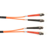 62.5-Micron Multimode Value Line Patch Cable, ST ST, 2-m (6.5-ft.)