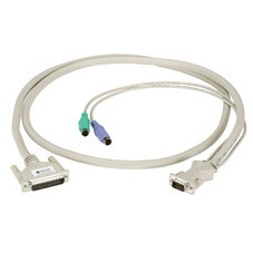 CPU/Server to ServSwitch Cable (CPU Cable), PS/2 Coax, 5-ft. (1.5-m)