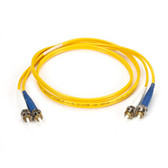 FC UPC/APC Single-Mode Fiber Optic Cable, FC/UPC-FC/UPC, Duplex, 1-m (3.2-ft.)