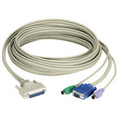 Coax CPU Cable for ServSwitch CAT5 KVM Extenders