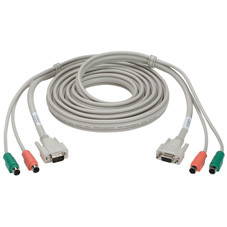 ServSwitch Simplicity CPU Cable, Coax 3-in-1, 10-ft. (3.0-m)
