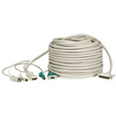 CPU/Server to ServSwitch Cable (CPU Cable), PS/2 Coax, 75-ft. (22.8-m)