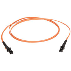Multimode, 50-Micron Duplex Fiber Optic Cable, PVC, MT-RJ MT-RJ, 1-m (3.2-ft.)