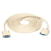 DB15 Thumbscrew Cable, Female/Female, 15-ft. (4.5-m)