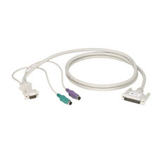 CPU/Server to ServSwitch Cable (CPU Cable), PS/2 Standard, 10-ft. (3.0-m)