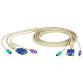 ServSwitch User Cable, PS/2, 10-ft. (3.0-m)