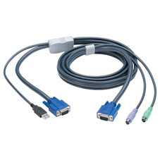 PS/2 to USB Flash Computer Cable, 32.8-ft. (10.0-m)