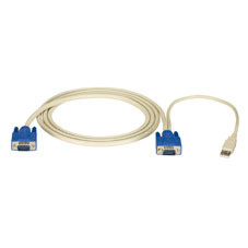ServSwitch EC USB Server Cable, 10-ft. (3.0-m)