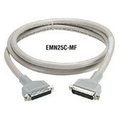 RS-232 Extended-Distance/Quiet (ED/Q) Cable with Molded Hoods