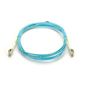 10-Gigabit Multimode, 50-Micron Fiber Optic Patch Cable, Zipcord, PVC, LC LC, 3-m (9.8-ft.)