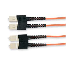 Economy Ceramic Multimode, 62.5-Micron Fiber Optic Patch Cable, SC SC, Duplex Riser, 1-m (3.2-ft.)