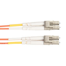 Economy Ceramic Multimode, 62.5-Micron Fiber Optic Patch Cable, LC LC, Duplex Riser, 2-m (6.5-ft.)