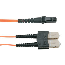 Economy Ceramic Multimode, 62.5-Micron Fiber Optic Patch Cable, SC MT-RJ, Duplex Riser, 2-m (6.5-ft.)