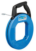 """Tuff-Grip Blued Steel Fish Tape 240' x 1/8"""" with Case"""