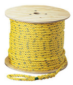 Pro-Pull Polypropylene Rope, 1/4 inch diameter, 1000 feet long