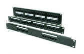 OCC Cat 5e patch panel family