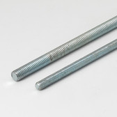 "All Threaded Rod, 1/2""-13 Thread, 72"" Length, Zinc Plated"
