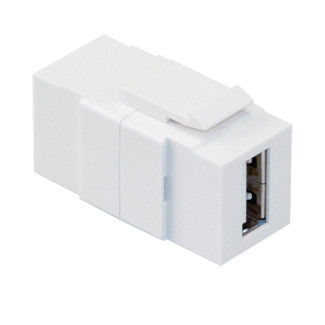 Leviton 40835-W QuickPort USB Connector USB WH