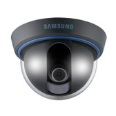 Analog Dome Camera, 1/3ヤ CCD, 600TVL, Fixed Lens (3mm), Electronic D/N, 12VDC