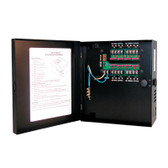 Power Supply, 24 VAC, 4 Output, 4 Amps, Small Enclosure,  UL LISTED, 110V only