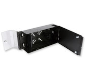 WCH-02P: Corning WCH Wall Mount Housing for 2 CCH Panels