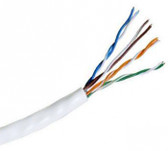 39419-8-WH2: Hitachi Category 5e Unshielded Twisted Pair Cable, White