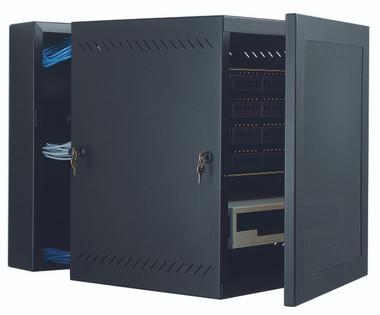 """GL24WMM: Great Lakes Case & Cabinet, WM Wall Mounts, 24""""H x 21.25""""W x 24.5""""D, mesh door (GL24WMM)"""