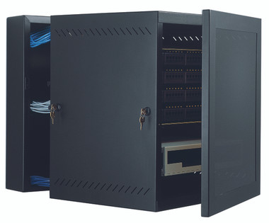 "GL48WMM: Great Lakes Case & Cabinet, WM Wall Mounts, 48""H x 21.25""W x 24.5""D, mesh door (GL48WMM)"