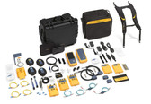 DSX-5000NTB120/GLD: Fluke Networks DSX-5000 CableAnalyzer  with Quad OLTS, OTDR, Fiber Inspection Camera and OneTouch AT with 1 year Gold Services