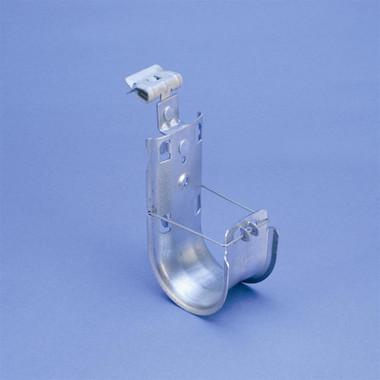 "CADDY CAT HP J-Hook with Hammer-On Flange Clip, 2"" dia, 5/16""–1/2"" Flange"