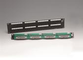 2512 PS CAT5 48Port Modular Panel