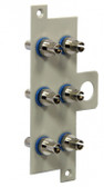 WIC-CP1-19T: Corning ST Single-mode Ceramic Connector Panel