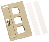 M13HM-246 (IVORY) FACEPLATE; KIT OF 25