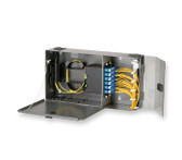 PWH-02P: Corning Pretium® Wall-Mountable Housing, Holds 2 CCH connector panels