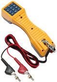 19800009: Fluke Networks TS19 Telephone Test Set with Angled Bed-of-Nails Clips