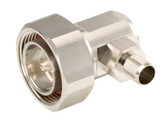CONNECTOR:CNT-400 7/16 DIN R/A MALE