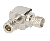 CONNECTOR:CNT-400 QMA RIGHT ANGLE MALE