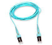797902TD120003M: Corning 2-Fiber Pretium EDGE® Jumper, LC to LC Uniboot, Riser, 50 µm (OM3), 3M