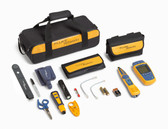 MS2-TTK: Fluke Networks MicroScanner2 Network Cable Tester Kit with Punch Down Tool and Tone Generator and Probe