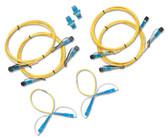 NFK3-SC: Fluke Networks Singlemode Test Reference Cord Kit for SC Adapter, 9 um, SC/SC - 2 m Cable Length (Set of 4), SC/SC - 0.3 m Cable Length (Set of 2)