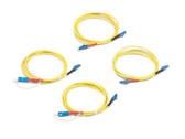 SRC-9-SCLC-KIT: Fluke Networks Singlemode Test Reference Cord Kit for Testing LC Terminated Fibers, 2m Length, 2 SC/LC, 2 LC/LC Male Network, Fiber Tester Accessory