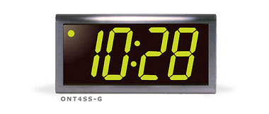 Inova Solutions | ONT4SS-G - 4 Digit, Stainless Steel Case, Green LED