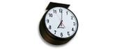 "Inova Solutions | ONTA12DS-BK - 12"" Analog Clock, Double Sided"
