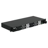 BASIC PDU, 50AMP, (6)C19, Hubbell CS8365C-3M, BLACK