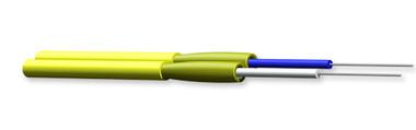 002E58-31331-24: Corning Zipcord Tight-Buffered Cable, Plenum, 2 F, Single-mode (OS2)