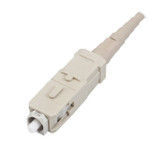 95-100-48-BP: Corning Heat-Cure Connector, SC, Bulk pack, 62.5 µm multimode (OM1), beige