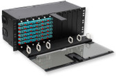 CLSSC-04U: Corning Classic Closet Connector Housing, 4 rack units, holds 12 CCH connector panels