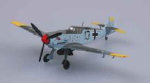 Bf 109E Luftwaffe 2./JG 3 Udet