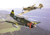 P-47 Thunderbolt & Messerschmitt ME-109 Battle of Italy