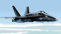 F-18 Hornet US Navy 1:100 Franklin Mint FM-5163